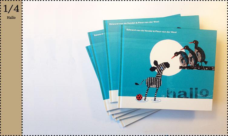 Kinderboekenweek 2012 Fleur van der Weel prentenboek Hallo Edward van de Vendel