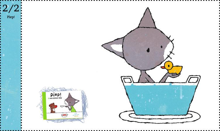 Piep! Een nieuwe dag Piep! Allemaal dieren Fleur van der weel kartonboek dreumes peuter baby Querido