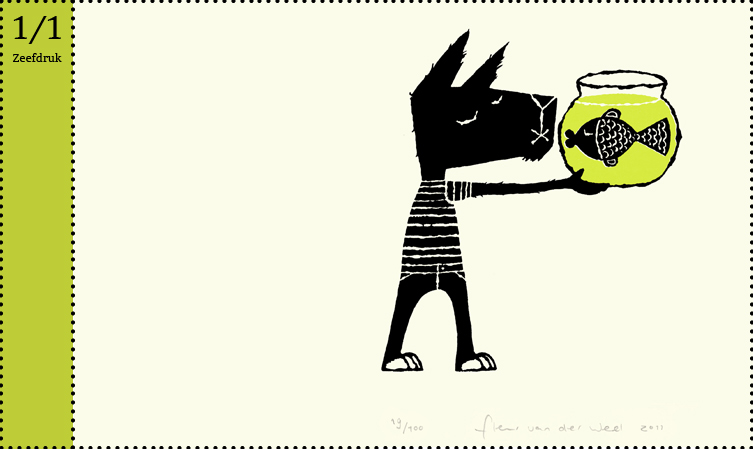 Superguppie zeefdruk Superguppie superguppie krijgt kleintjes De groeten van Superguppie hoera voor superguppie Edward van de Vendel zilveren griffel woutertje pieterse prijs vlag en wimpel querido